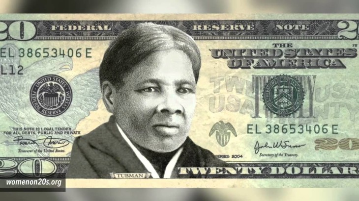Harriet Tubman, a historic Canadian resident, will grace the front of the next US $20 bill